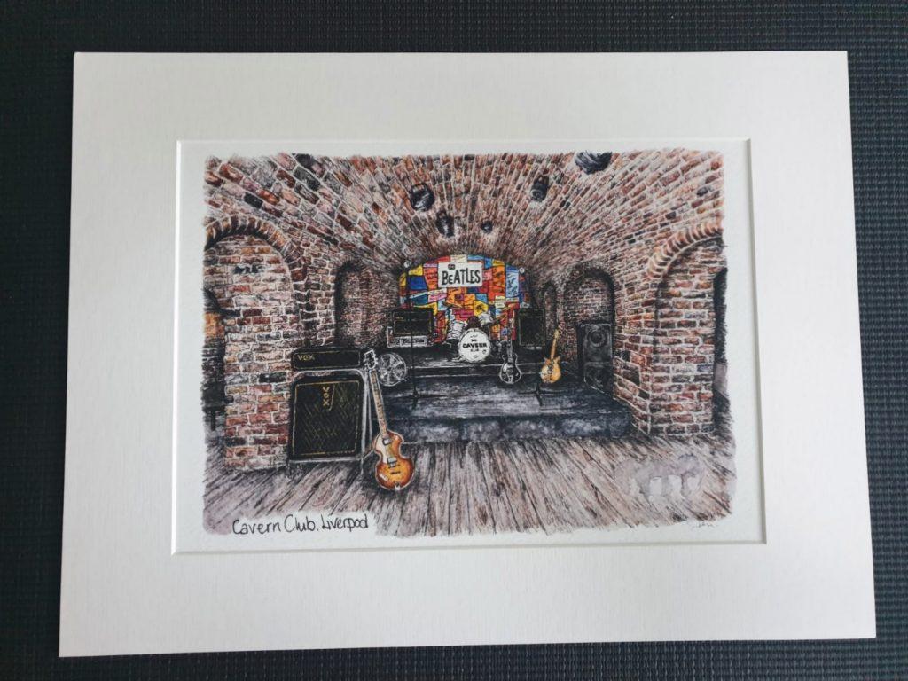 Inside-the-Cavern-Club-painting-by-Celia-John